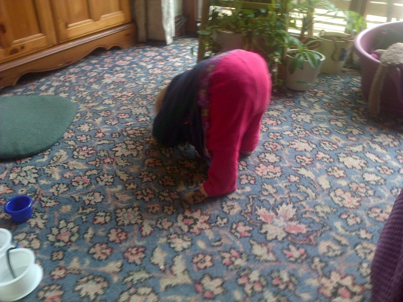 a headstand