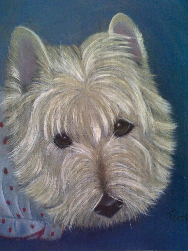 Gracie painting