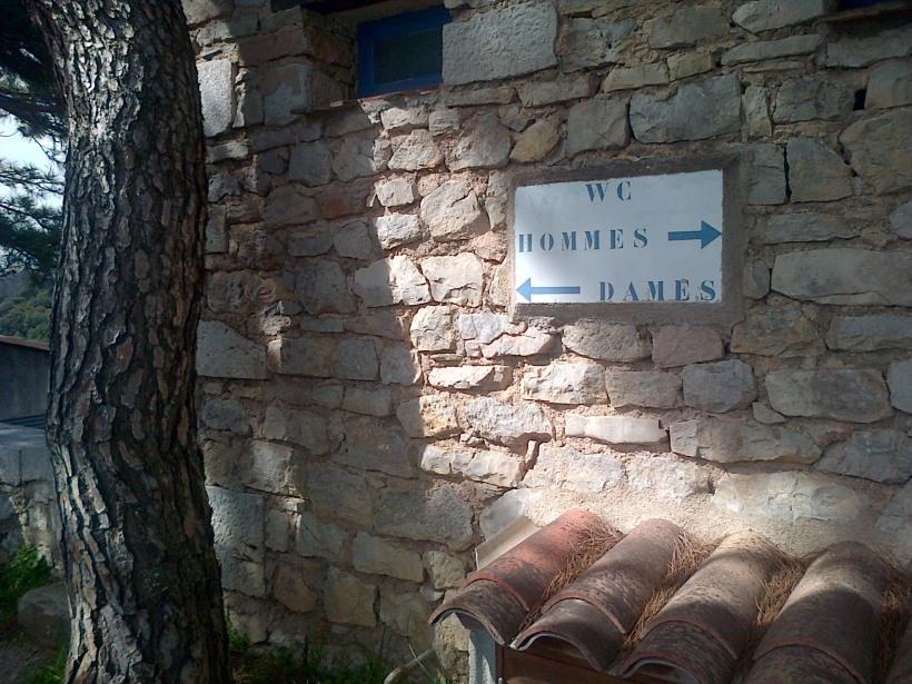 WC notice