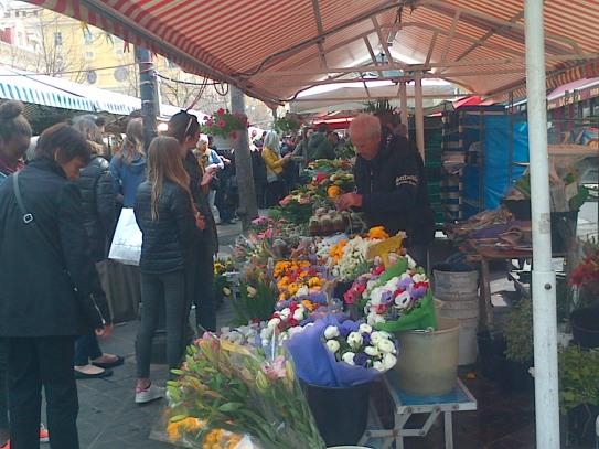 Nice - flower market